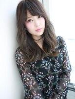 暗髪×透明感☆愛されロング