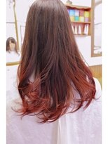 テトラ ヘアー(TETRA hair)グラデーションカラー