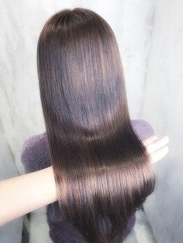 アンフィフォープルコ(AnFye for prco)の写真/メディア多数出演サロンならではの高技術★当店オリジナルのシステムトリートメントで誰もが羨む艶髪へ。