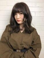 ヘア プロデュース キュオン(hair produce CUEON.)ふんわり艶カラー × medium