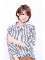 なめらかフォルムの大人ショートボブ【Room hair曙橋/新宿】