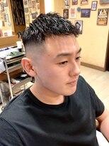 オムヘアーフォー(HOMME HAIR 4)ツイスト クロップ スキン【HOMME HAIR4 KENSHiRO】