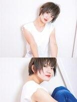 エトネ ヘアーサロン 仙台駅前(eTONe hair salon)【eTONe】軽めショートヘア