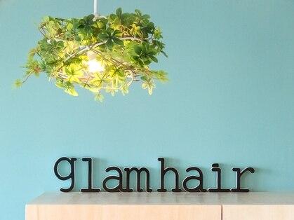 グラムヘアー(glam hair)の写真