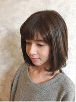ボヌールヘア(BONHEUR HAIR)ボヌールヘアー 綾瀬【YUKIE】ベーシックロブ