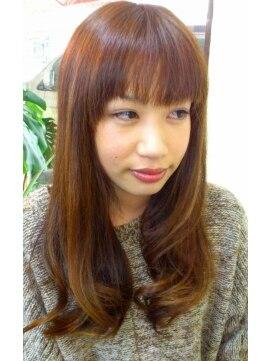 ヘアサロン スリーク(Hair Salon Sleek)マットベージュ×ボリュームコントロール×毛先ワンカール