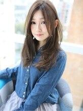 """アグ ヘアー オペラ 渋谷2号店(Agu hair opera by alice)☆""""愛されロング""""耳かけスタイル☆"""