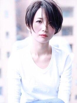 """クラウドゼロ(Cloud zero)の写真/《平日限定Cut+カラー+濃密炭酸ケア+Tr¥8800》""""鮮やか発色×柔らかな透明感""""初めての白髪染めもおまかせ♪"""