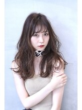 ダブル(W)【hair salon W】インナーカラークールミックスウェーブ
