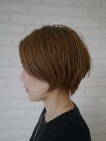 ヘアー フリカケ(Hair furicake)手入れが楽なショートスタイル