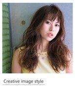 ヴェローグ シェ ブー(belog chez vous hair luxe)【Creative image styel】バレイヤージュのウェーブスタイル