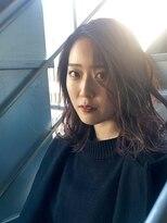 ヘアサロンエム フィス 池袋(HAIR SALON M Fe's)☆ラベージュカラー☆ 【担当.羽富】