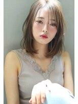 【Blanc/目黒】ベージュカラー/レイヤーボブ/ボブディ 1