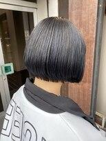コレット ヘアー 大通(Colette hair)Bob &blue color☆