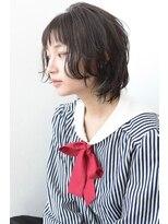 ヴィッカ 南青山店(vicca)シースルーバングインナーカラールーズショート【vicca萩原】