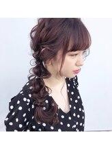 ジェムフォーヘアー 藤崎店(gem. for hair)サイド編みおろし