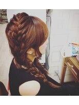 ヘアセットサロン アトリエ チャイ(Hair set salon atelier CHAI)編みおろし☆ツイン