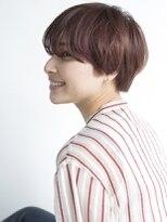 スピン ヘアー 烏丸店(Spin hair)【 ハンサムショート 】20代30丸みショート