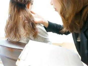 ラボ(Labo)の写真/自宅セルフケアではなかなか解決できない髪のダメージを、ヘアのプロがしっかりと効率的に補修致します!