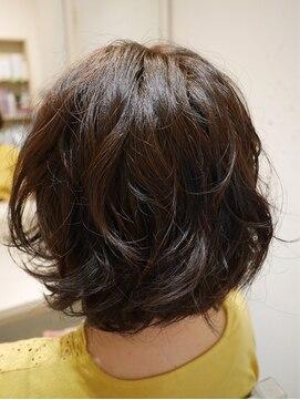 ヘアー カラー キー(HAIR color KEY)低温デジタルパーマ・ボブ