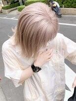 シャチュー(SHACHU)【MORIYOSHI】艶髪・透明感☆外国人風ミルクティーパールカラー