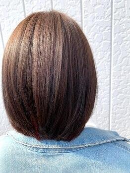 ビークール 美園店(Be COOL)の写真/【新メニュー☆酸熱トリートメント取扱店】傷みが気になる方必見!使用後の髪の変化にきっと驚く★