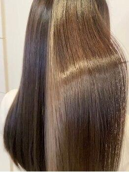 ヘアーズ クラーレ(Hair's Curare)の写真/[上本町]全MENUでダメージレス、エイジングケアを徹底!美髪にこだわり続けるサロンだからこそ提供できる◎