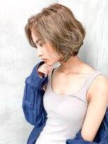 ハバナ 渋谷(HAVANA)【HAVANA 渋谷】大人かわいい☆小顔前下がりボブ×3Dカラー