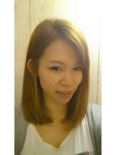 ポンヘアー(PON hair)艶髪×大人ロブ☆