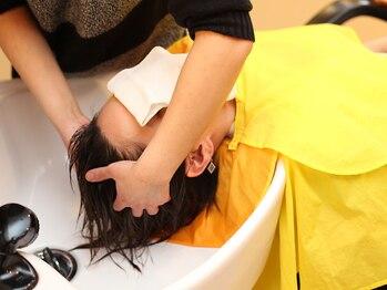 """プラザ 西大和店(PLAZA)の写真/""""美しさ""""は頭皮から。上質ケアであなたの素髪を内側から美しく!指通り滑らかなつやつやの仕上がり♪"""