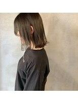 ミント(mint)カーキグレーで透明感!髪の赤みも抑えます!