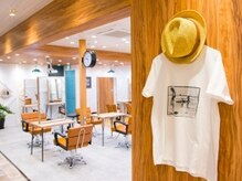 アグ ヘアー ポロ 札幌11号店(Agu hair poro)の雰囲気(駅近の好立地。寛げる居心地の良い空間。)