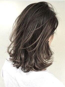 ヘア コンフォート グランフルール(Hair comfort GRAND FLEUR)の写真/人気のイルミナやアディクシーカラーで外国人のような艶×透明感が両方手に入る☆ダメージレスで髪に優しい