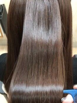 パームパム 熊谷店(Perm Pam)の写真/今まで出会ったことのない髪質改善を♪オススメのグリニコ酸熱トリートメントで憧れの美髪へ導きます☆