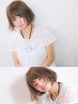 エトネ ヘアーサロン 仙台駅前(eTONe hair salon)【eTONe】小顔ショートヘア