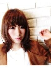 イデー ヘアサロン 駅前店(idee Hair Salon)idee*shimada*くびれレイヤーstyle
