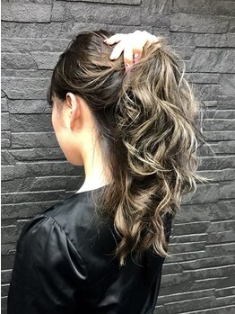 デザイン フォー ヘアー グランツ プロデュース バイ ヒス(Design for hair GRAnt'z)の写真/《イルミナカラー》《アディクシーカラー》最高級薬剤取り扱い☆ブリーチなしでワンランク上の透明感♪