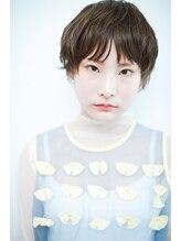ヘアーエスクールシーユー 枚方T-SITE店(hair S.COEUR×Cu)マッシュグラデーションショート