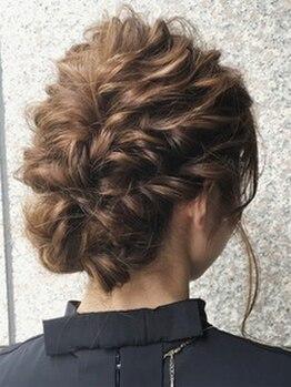 パステル ヘアー デザイン 平井北口(Pastel Hair Design)の写真/平井駅北口徒歩30秒♪確かなプロの技術により、大切な記念日やイベントが最後まで可愛く過ごせる☆
