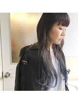 チクロヘアー(Ticro hair)【ticro大石】インディゴロング