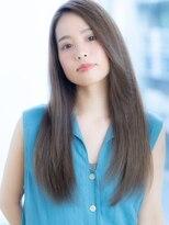 オーブ ヘアー トピア 草薙店(AUBE HAIR topia)クール◎綺麗めストレートスタイル