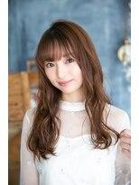 ヘアーサロン リアン 熊谷2号店(hair salon Rien)シースルーバング×チョコレートブラウン