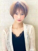 アグ ヘアー ルノン 八戸石堂店(Agu hair lunon)《Agu hair》女っぽふんわりマロンショート