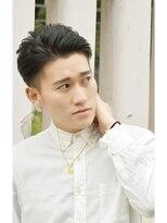 ヘアーサロン エール 原宿(hair salon ailes)(ailes 原宿)Style38 ツーブロック×ワイルドBlack