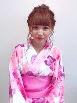 キッカ(CHICCA)【CHICCA】浴衣×mixアレンジ