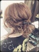 アチーブ 姫路店(Achieve)【Achieve】後れ毛ありのシニヨンアレンジstylist 平石
