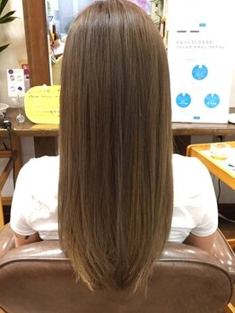 ヘアースペース クルー(hair space CREW)の写真/【倉敷/連島】新商品導入!生キューティクルで外から徹底ケア。圧倒的なツヤ感と溢れる潤いで髪にご褒美を。