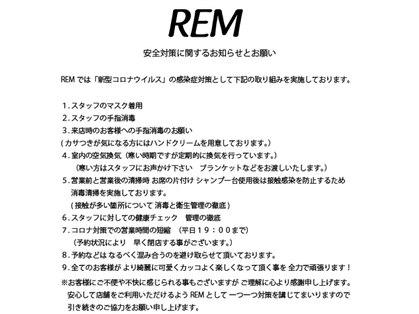 レム(REM)の写真
