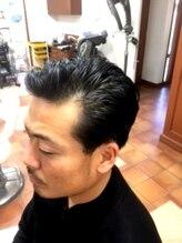 アートヘアートリップ(art hair TRIP)☆ キメ過ぎず、清潔感のあるダンディースタイル ☆