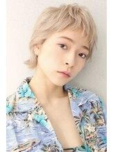 遊人セントラル(CENTRAL)short wolf×high tone beige